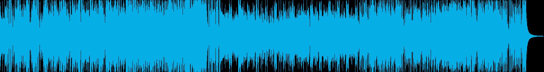 70年代風のジャズフュージョンの再生済みの波形