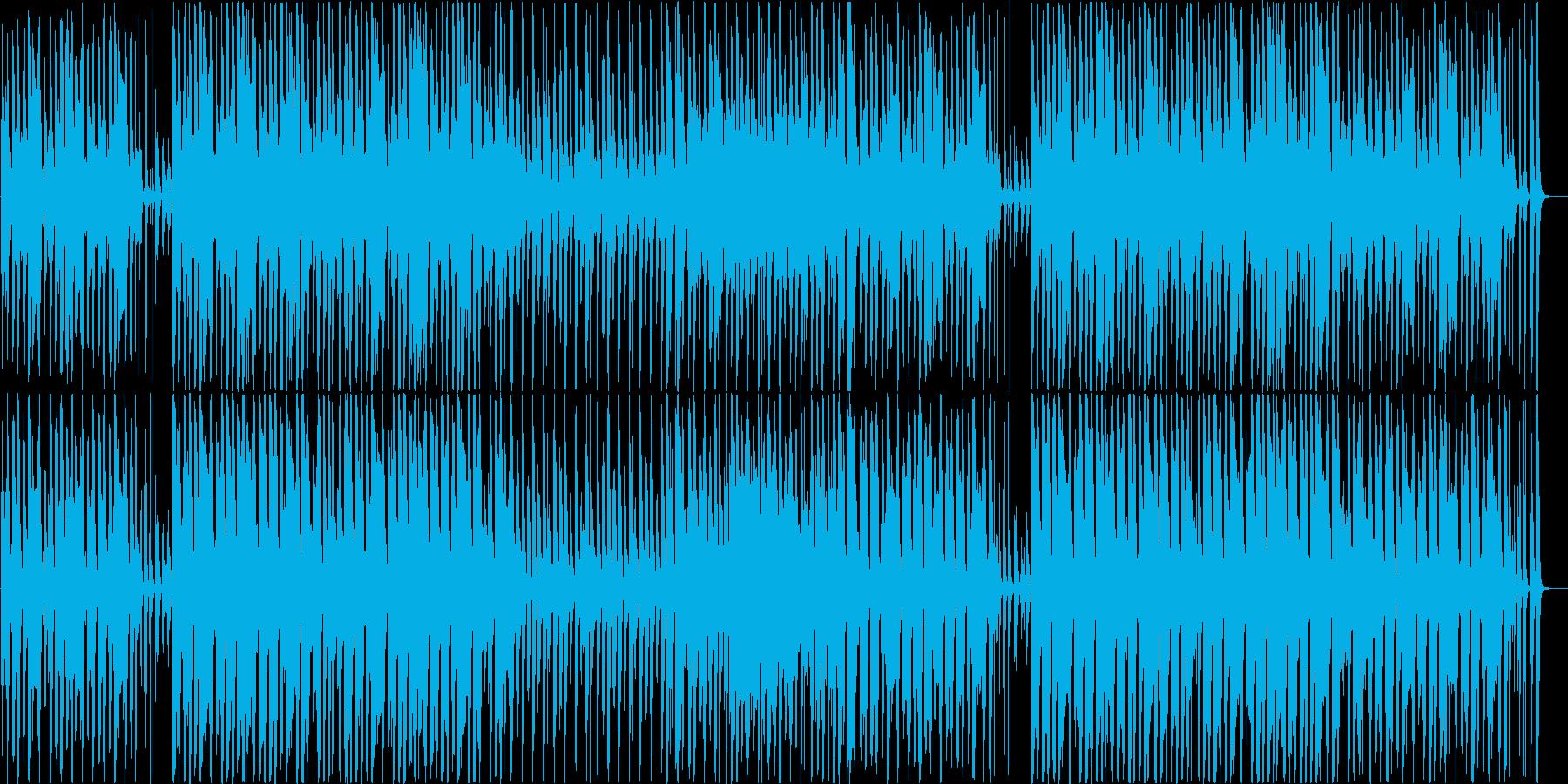 ファニーで穏やかなアコースティック♪の再生済みの波形