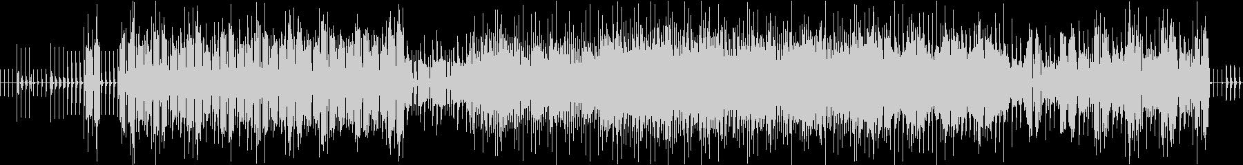 アンダーグラウンド感あるエレクトロニカの未再生の波形