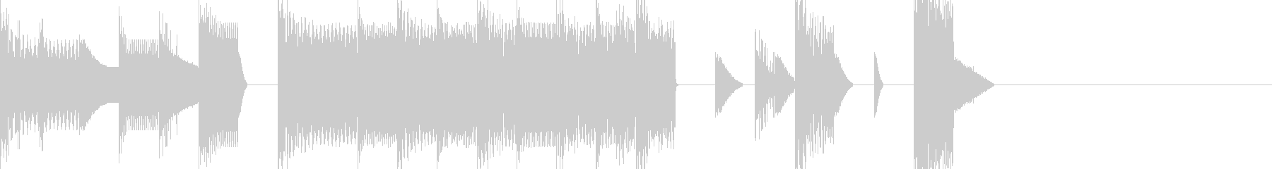 Game Clear Jingle-style Chiptune's unreproduced waveform