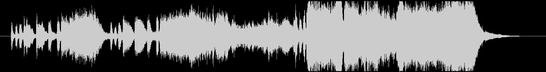 生演奏トランペットが豪華なファンファーレの未再生の波形