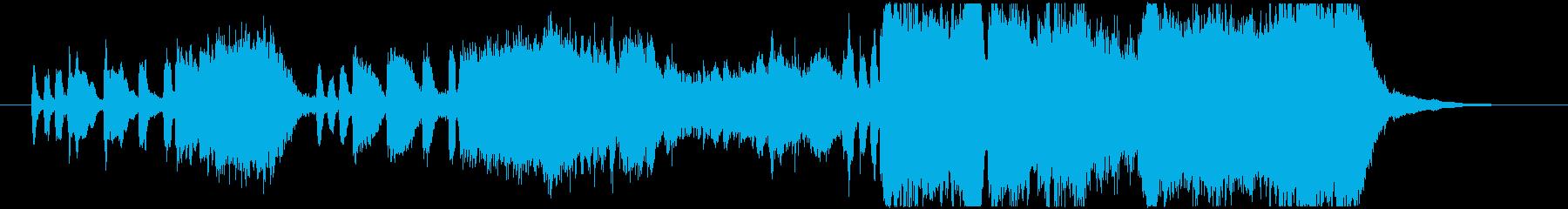 生演奏トランペットが豪華なファンファーレの再生済みの波形