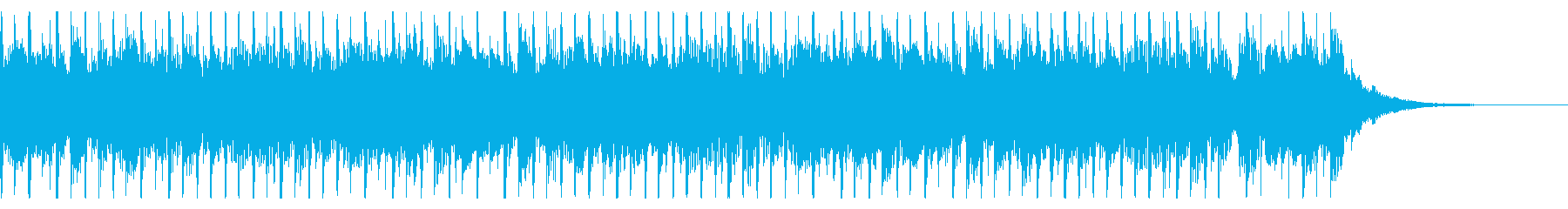 建物(30秒)の再生済みの波形