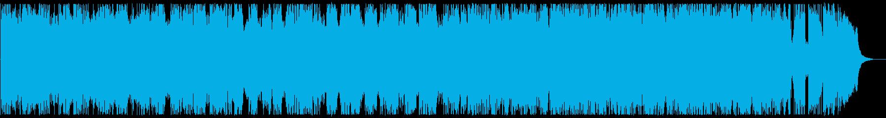 45秒 ヘビーメタル ダークフィールドの再生済みの波形
