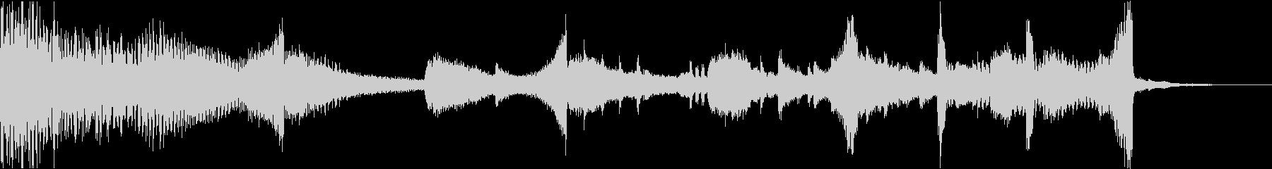 CM映画ピアノストリングスコーポレートfの未再生の波形