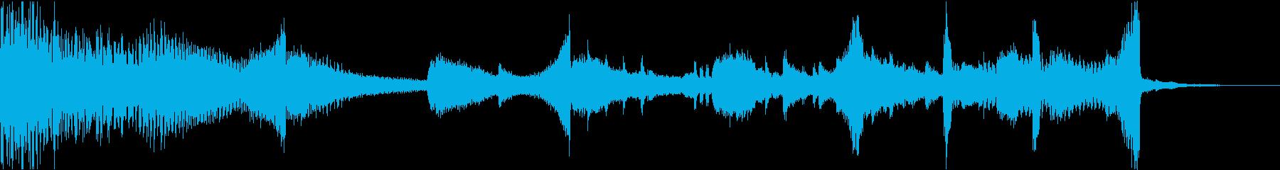 CM映画ピアノストリングスコーポレートfの再生済みの波形