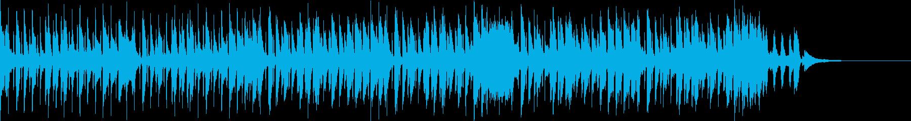 Pf「楽観」和風現代ジャズの再生済みの波形