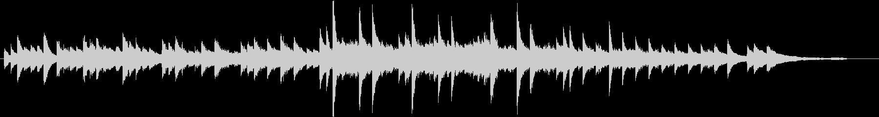 うっとり♪エレガントな秋のピアノBGMの未再生の波形