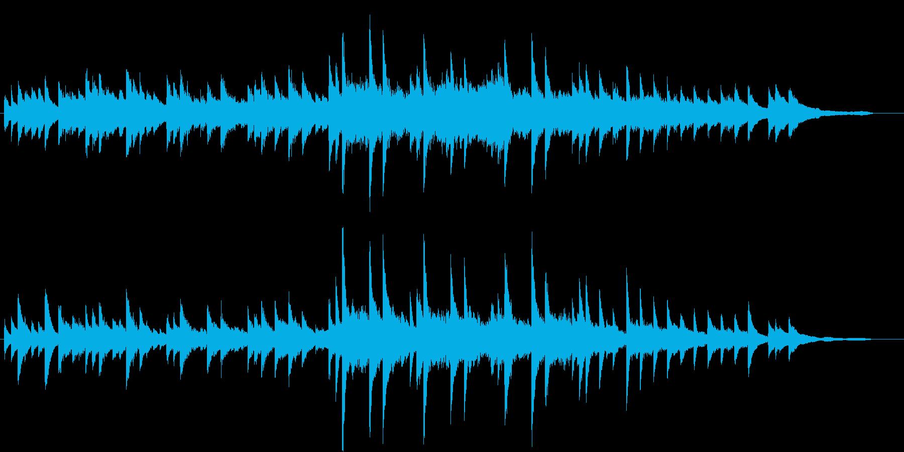 うっとり♪エレガントな秋のピアノBGMの再生済みの波形