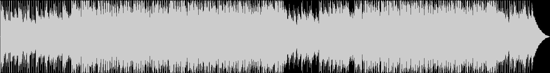 簡単な明るいファンクの未再生の波形