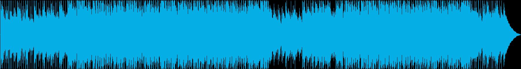 簡単な明るいファンクの再生済みの波形