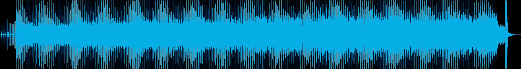 ほのぼの&可愛い系&ノリ良いテクノポップの再生済みの波形