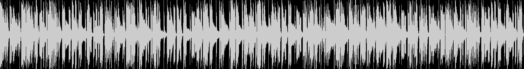 お洒落なチルアウトジャズ 落ち着くピアノの未再生の波形