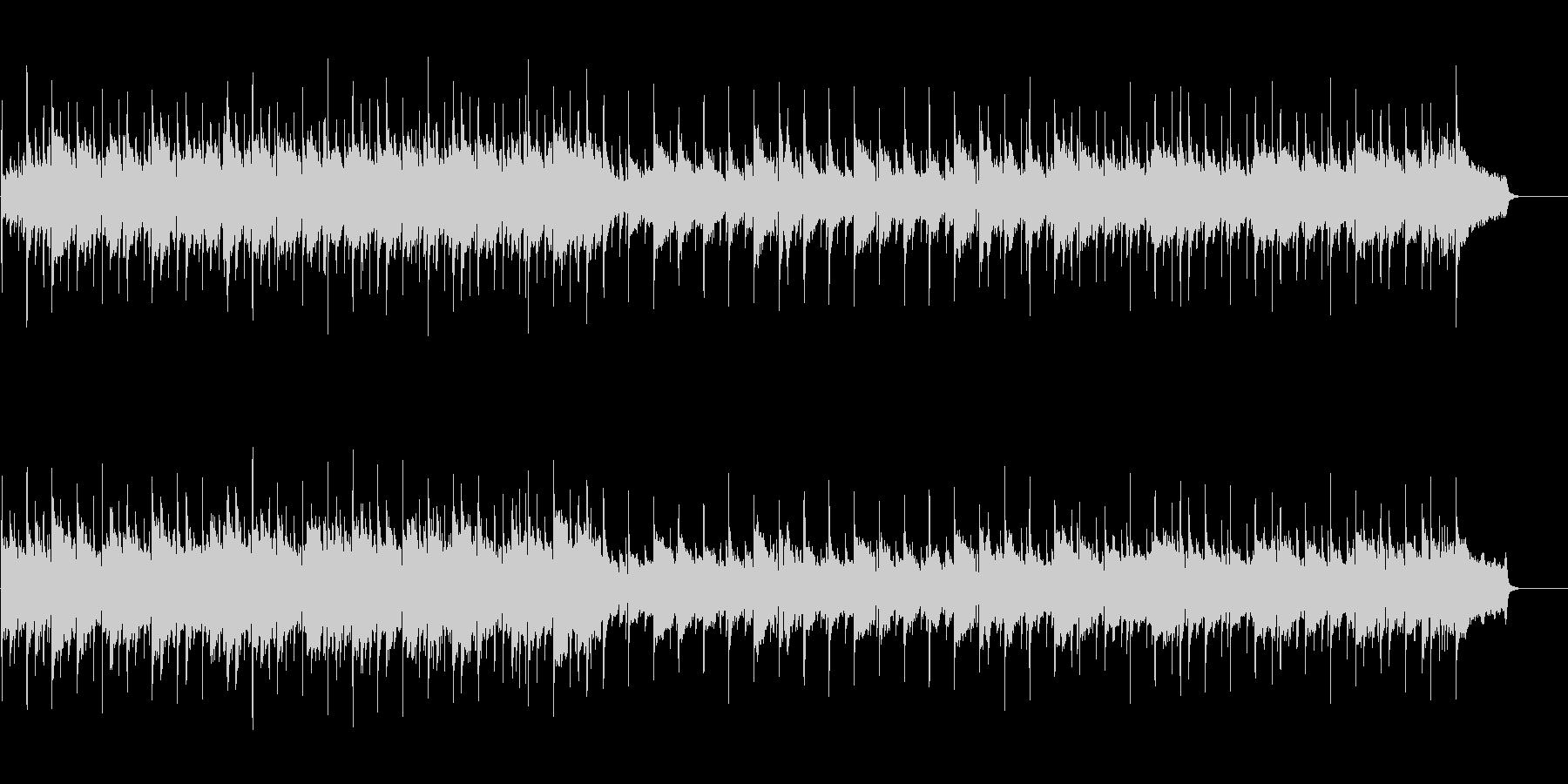 小さく聞こえるサックスの穏やかバンド曲の未再生の波形