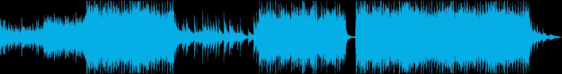 現代の交響曲でハッピーな曲の再生済みの波形