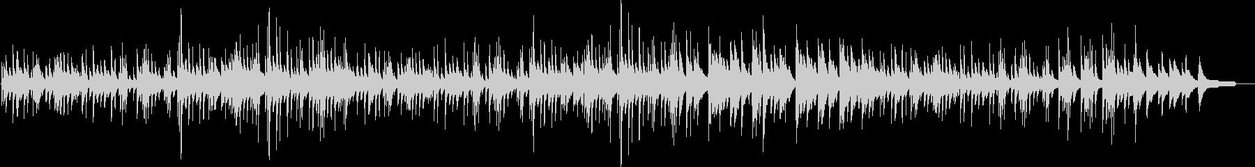 切ないピアノソロメロディ・ジブリ風の未再生の波形