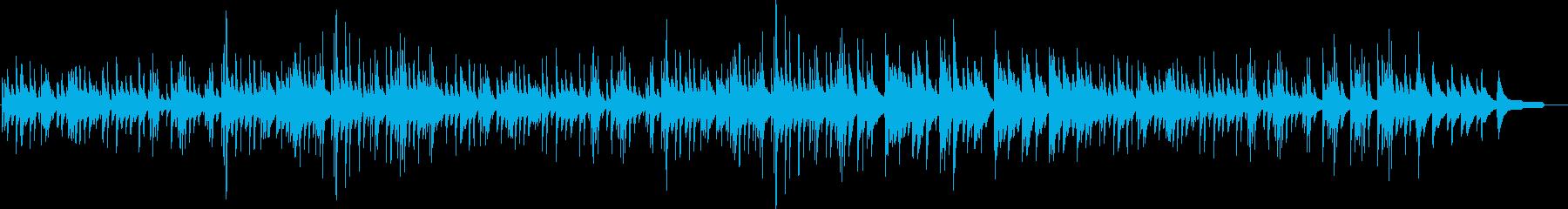 切ないピアノソロメロディ・ジブリ風の再生済みの波形