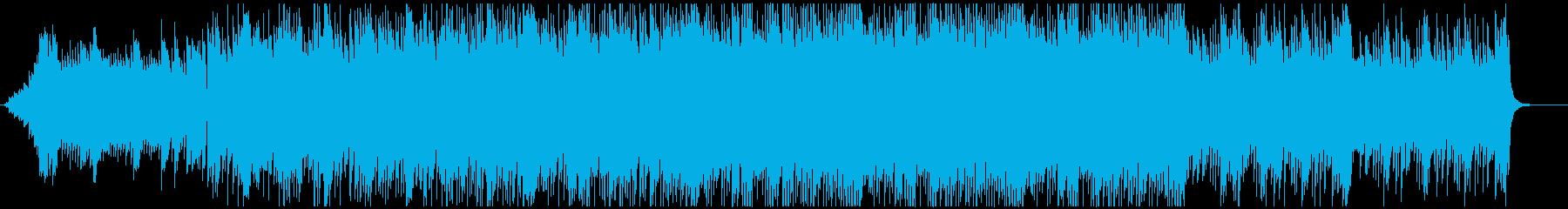 ミニマルなピアノが重なる爽やかなポップの再生済みの波形