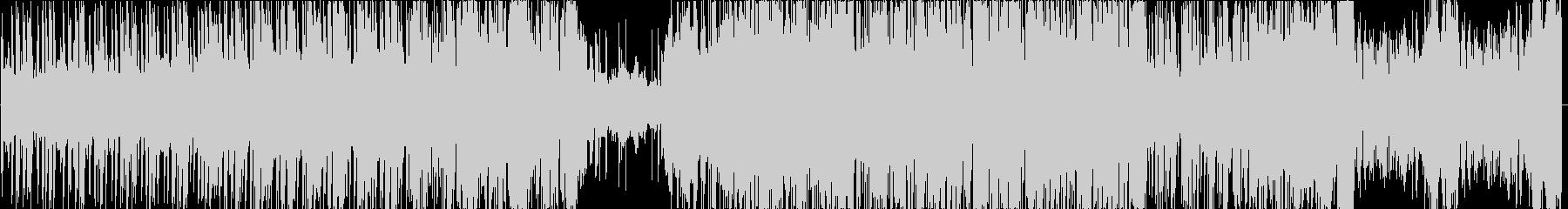 クールで神秘的なHipHopの未再生の波形