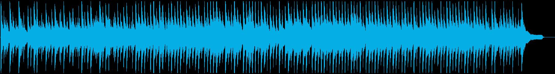 しっとり系のウクレレ曲 初夏のくつろぎの再生済みの波形