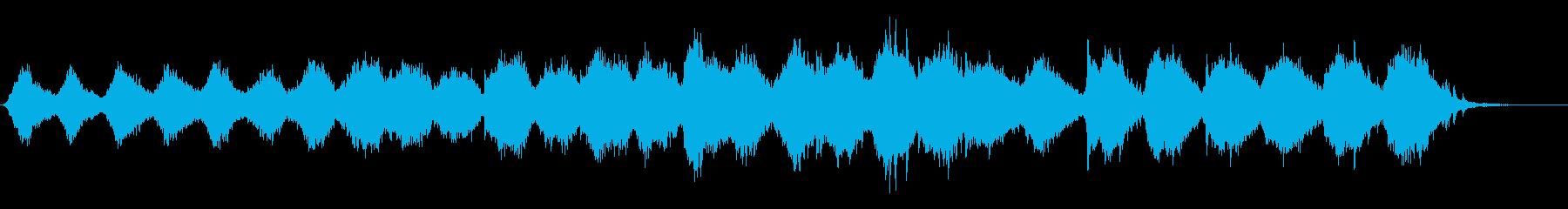 浮遊感のある映像的な美しいアンビエントの再生済みの波形