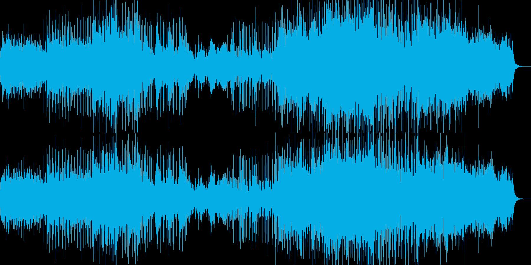 Night oceanの再生済みの波形