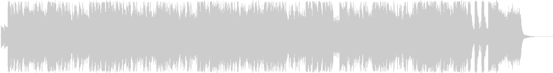 ジングル - オーシャンブリーズの未再生の波形