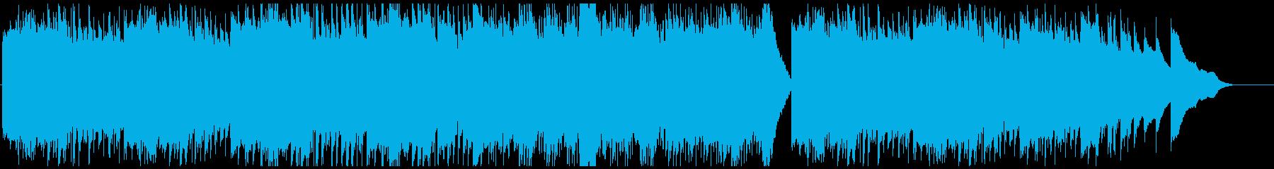 ハープの静かな安眠向けワルツの再生済みの波形