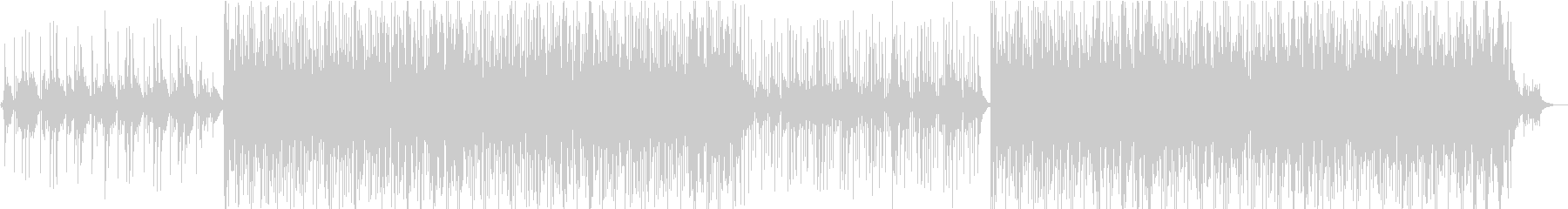 ピアノ+アコギのアコースティックなBGMの未再生の波形