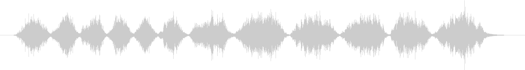 メタルへら:大きなフライパンにひっかき傷の未再生の波形