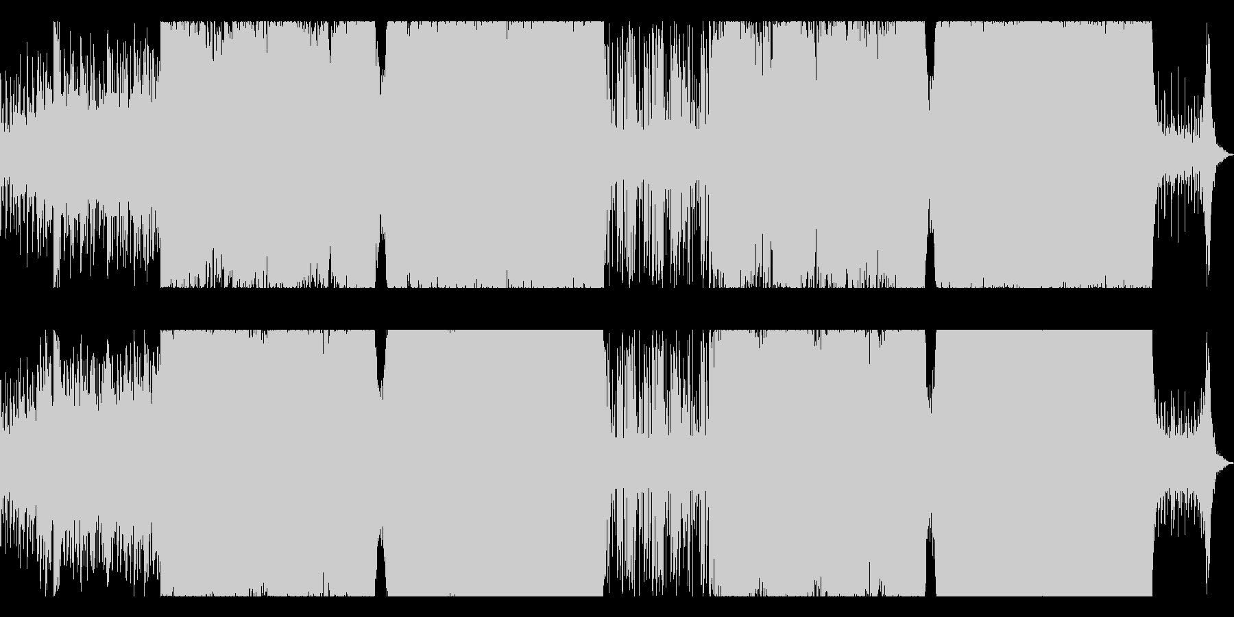 電気音響シンフォニー アンビエント...の未再生の波形