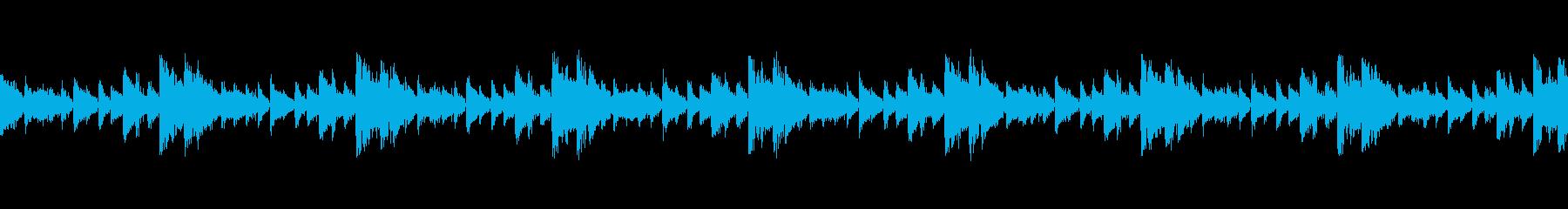 攻撃的なシンセサイザー・テクノ・EDMの再生済みの波形