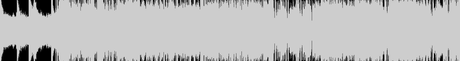 ループ版の未再生の波形