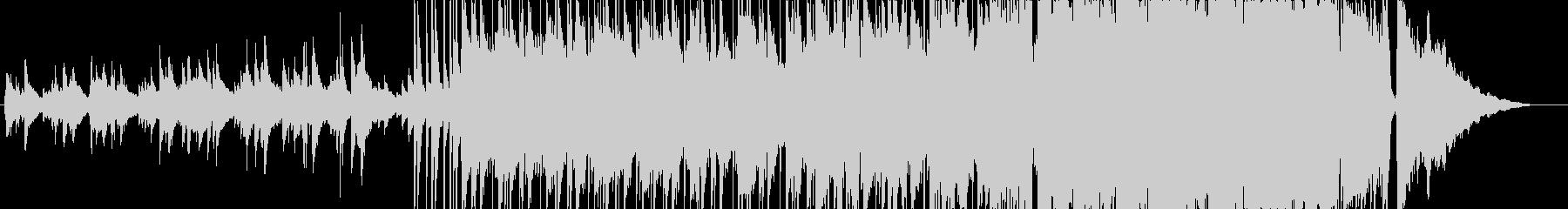 始まりを予感させるポップインストの未再生の波形