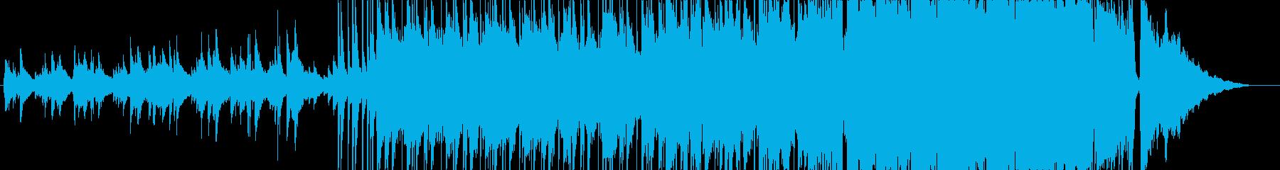 始まりを予感させるポップインストの再生済みの波形