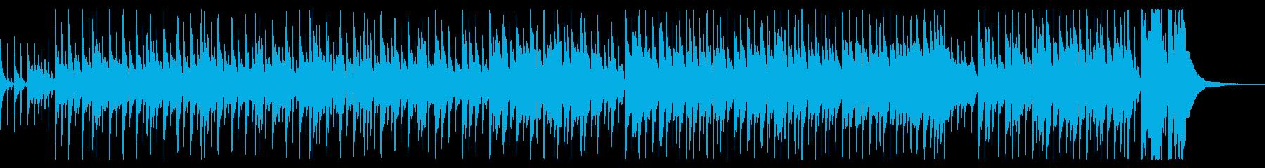 中華の雰囲気感じるBGMの再生済みの波形