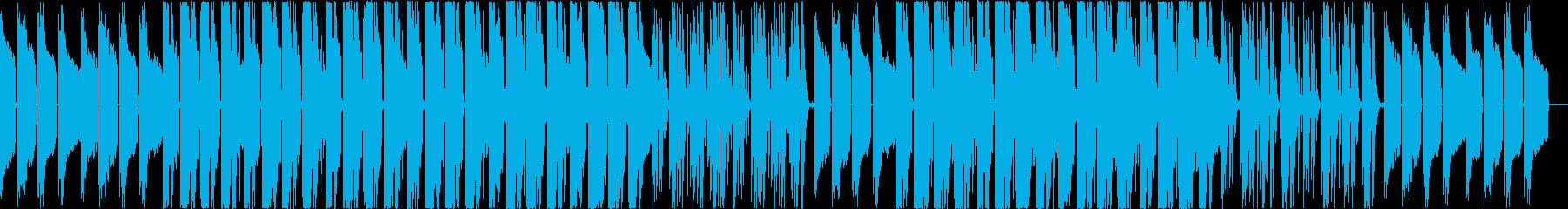 スイートでラブラブでキャッキャウフフな曲の再生済みの波形