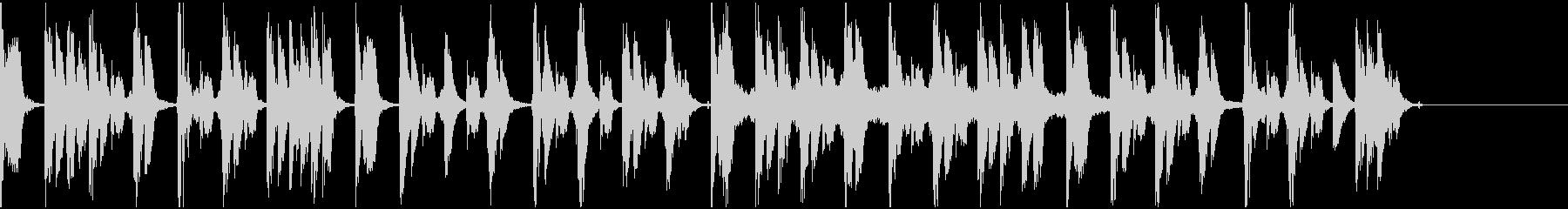 【エレクトロニカ】ロング5、ショート2の未再生の波形