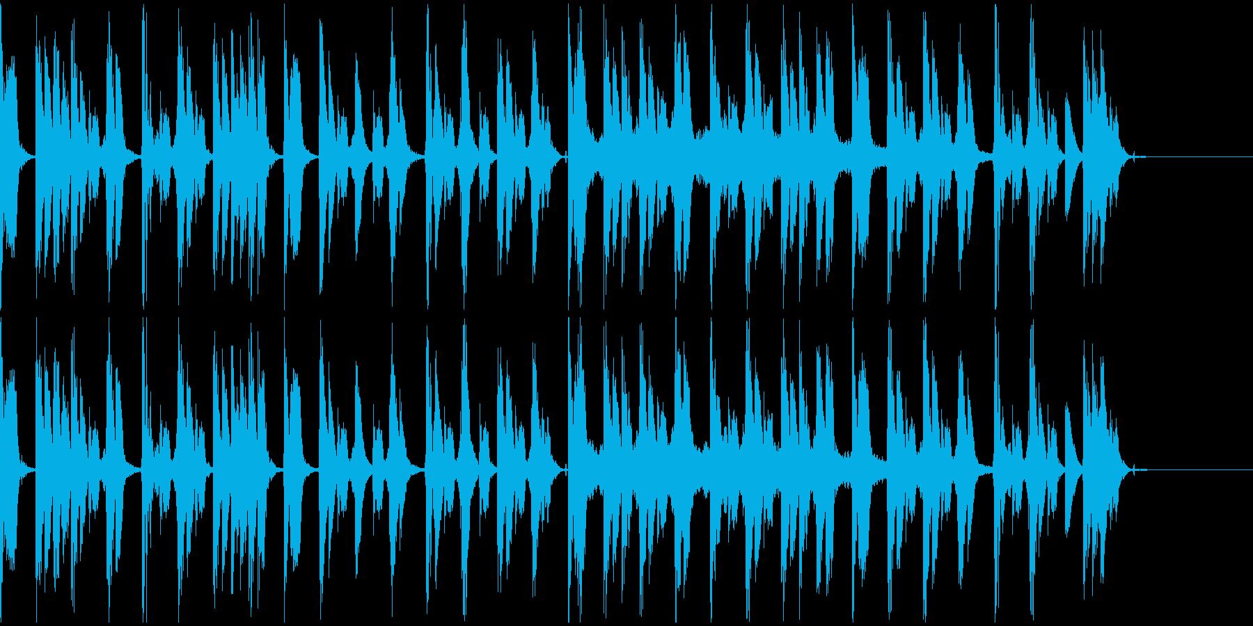 【エレクトロニカ】ロング5、ショート2の再生済みの波形