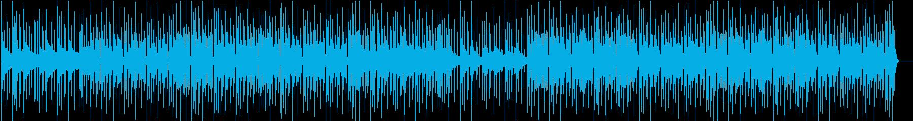 ピアノ、ストリングスが主体の勇敢な曲の再生済みの波形