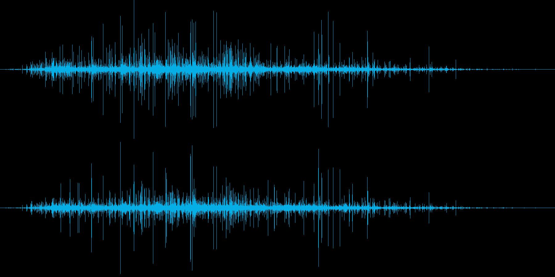 クリーチャーモーフ:Gooey A...の再生済みの波形