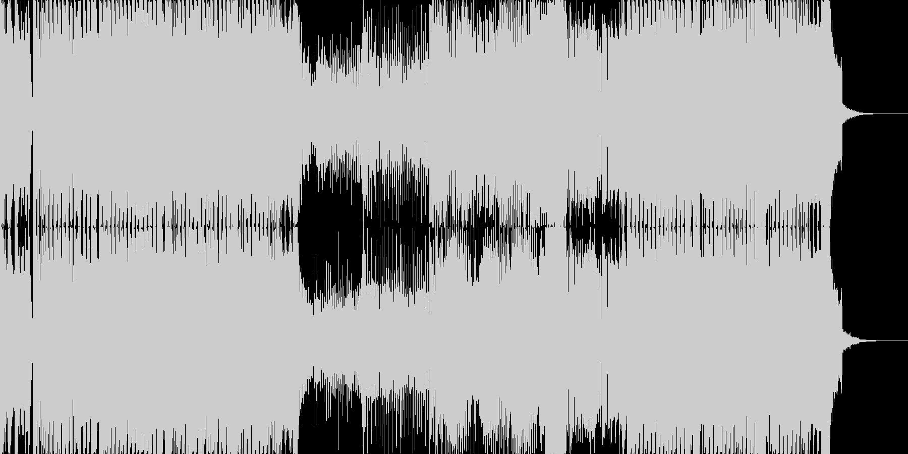 ハイテンションなワブルベースのEDMの未再生の波形