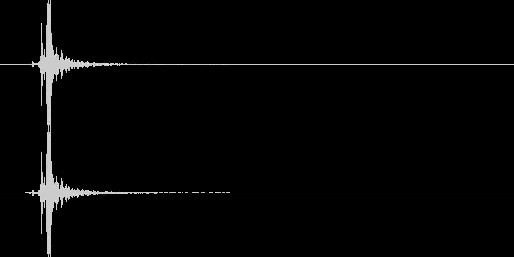 チャ(金属系)の未再生の波形