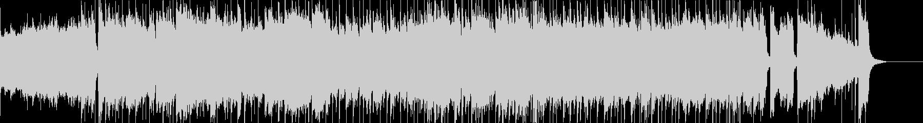 ピアノとバイオリン主体のバラードインストの未再生の波形