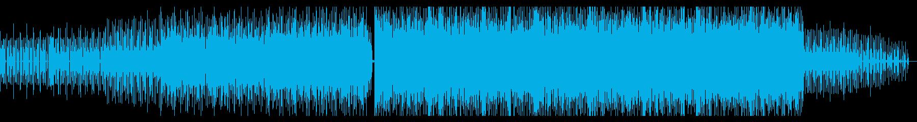 力強く熱いエレクトリックダンスビートの再生済みの波形
