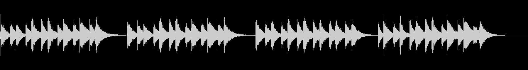 故郷の空 (マリンバ)の未再生の波形