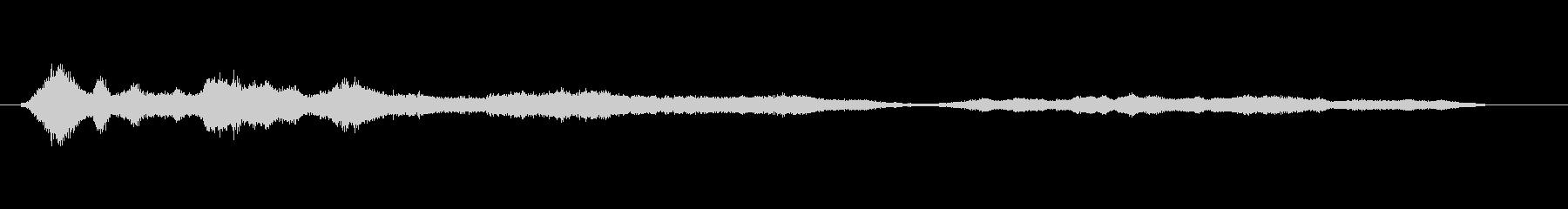 メタル スクワイルブライトロング03の未再生の波形