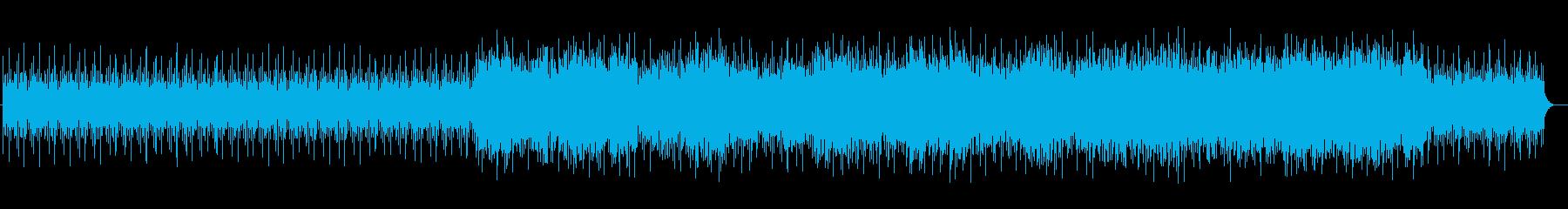 透明感のある鉄琴サウンドの再生済みの波形