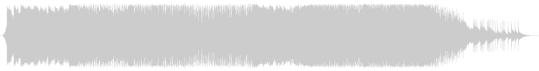 ガーリー&キュートなハウスポップの未再生の波形