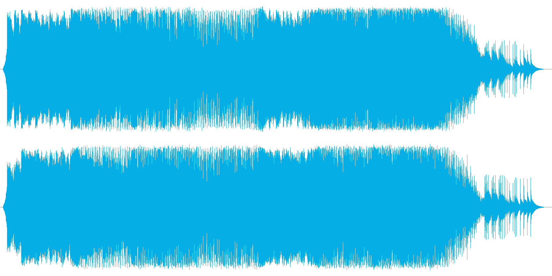 ガーリー&キュートなハウスポップの再生済みの波形